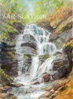 Карпаты водопад Шипот